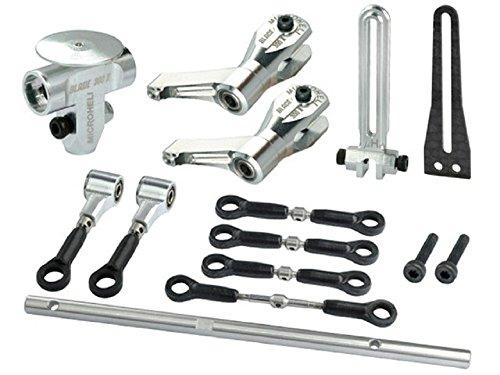 Microheli Precision CNC Aluminum DFC Head (Short) combo - BLADE (Precision Cnc Aluminum Head)