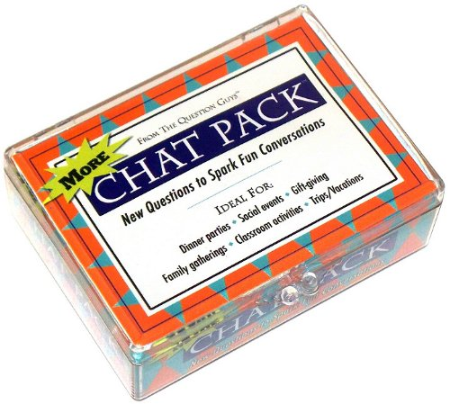 More Chat Pack: New Questions to Spark Fun Conversations (Question Pack)