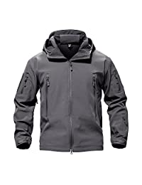 TACVASEN Men's Special Ops Military Tactical Soft Shell Jacket Coat