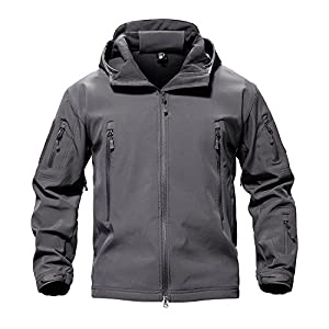 15. TACVasen Men's Special Ops Military Tactical Soft-Shell Jacket Coat