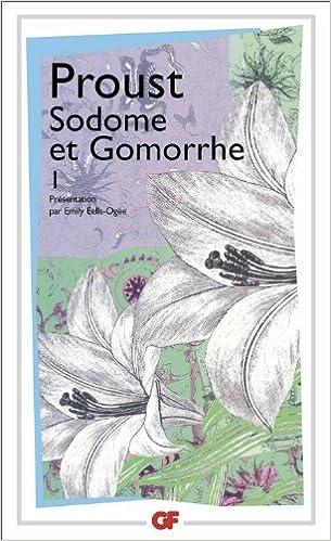 Marcel Proust - Sodome et Gomorrhe - Partie 1