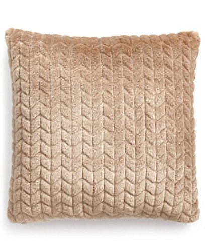 Martha Stewart Collection Quilted Faux-Fur 20