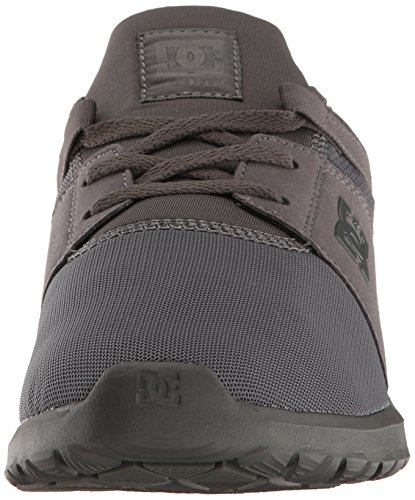 DC Shoes Men's Heathrow Shoes Top Sneakers Grey Low AaA6rqYxw