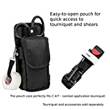First Lifesaver Trauma Shears Holster with Tactical EMT Belt Tool Pouch