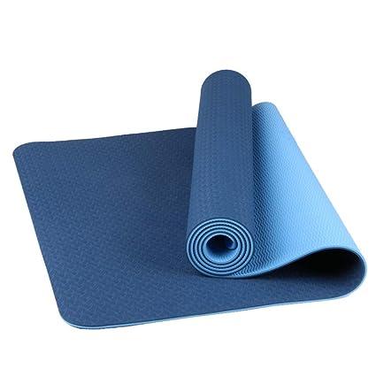 Amazon.com: JINRU - Alfombrilla de yoga, respetuosa con el ...