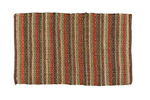 Park Designs Cotton Chindi Stripe Rug 24X38 Earth, 24