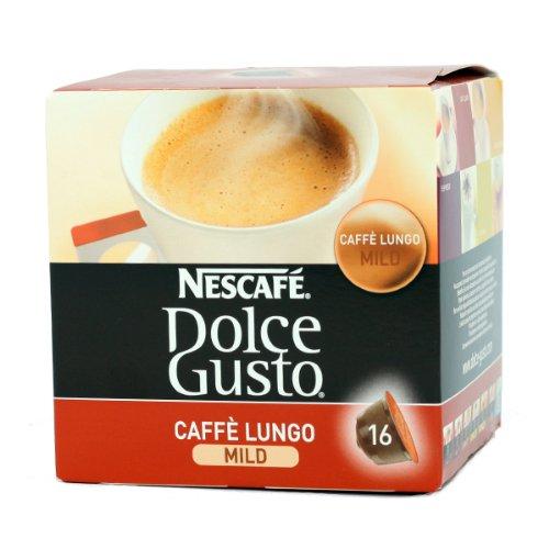 Nescafé Dolce Gusto Caffe Lungo Mild, 16 Capsules