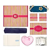 Anigan First Period Kit with Hipster Menstrual Panties, Instant Heat Pad, Informational Booklet & More, XS