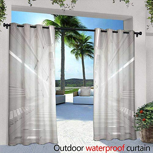 Lightly Patio Curtains,Cute red Watermelon Slice Design on Striped Blue Background Seamless Pattern Wallpaper Backdrop,W84 x L84 Thermal Insulated Water Repellent Drape for Balcony
