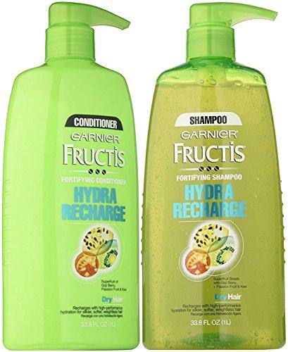 2X Garnier Fructis Pure Clean Fortifying Shampoo 25.4 Oz. Ea
