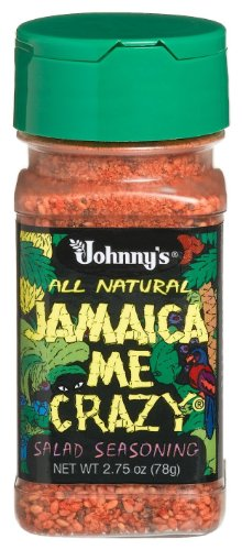 Johnny's All Natural Jamaica Me Crazy Salad Seasoning - 2.75 oz