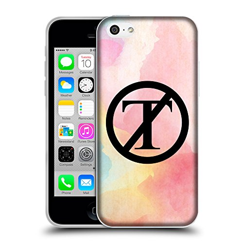 Super Galaxy Coque de Protection TPU Silicone Case pour // Q04130526 NON Trump déborde de couleur // Apple iPhone 5C
