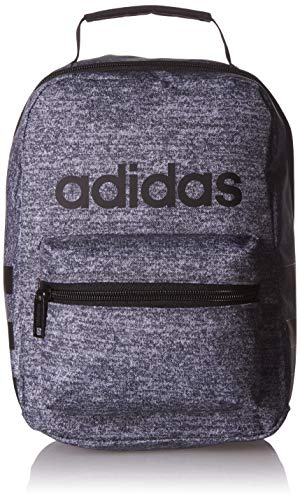 adidas Unisex Santiago Insulated Lunch Bag, Onix Jersey/Black/White, ONE SIZE