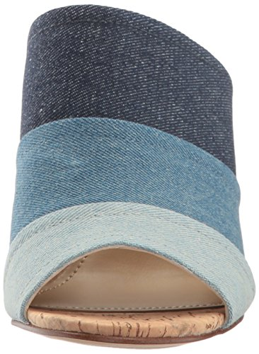 Marc Mules Femme Fisher Dark pour Blue Denim rrWBw