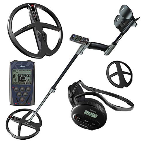 XP DEUS Metal Detector + Wireless WS4 Headphones + Controller and 11 inch Coil ()