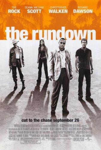 The Rundown Advertisement Movie (27 x 40 Inches - 69cm x 102cm) (2003)