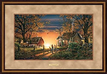 morning surprise by terry redlin elite framed print open edition