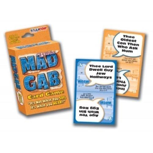 TaliCor Bible Big Deal Mad Gab Card Game (Mad Gab Game)