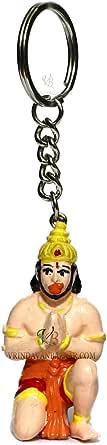 VRINDAVANBAZAAR.COM Lord Hanuman (Bajarangi) keychain