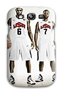 New Style 3092554K783375483 lebron james deron williams nike basketball kevin durant kobe bryant usa nba NBA Sports & Colleges colorful Samsung Galaxy S3 cases