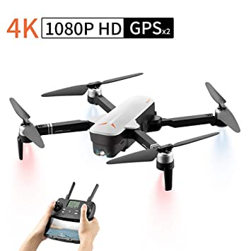 Drone con Camara HD, Drones con Doble GPS, WiFi FPV Quadcopter con ...
