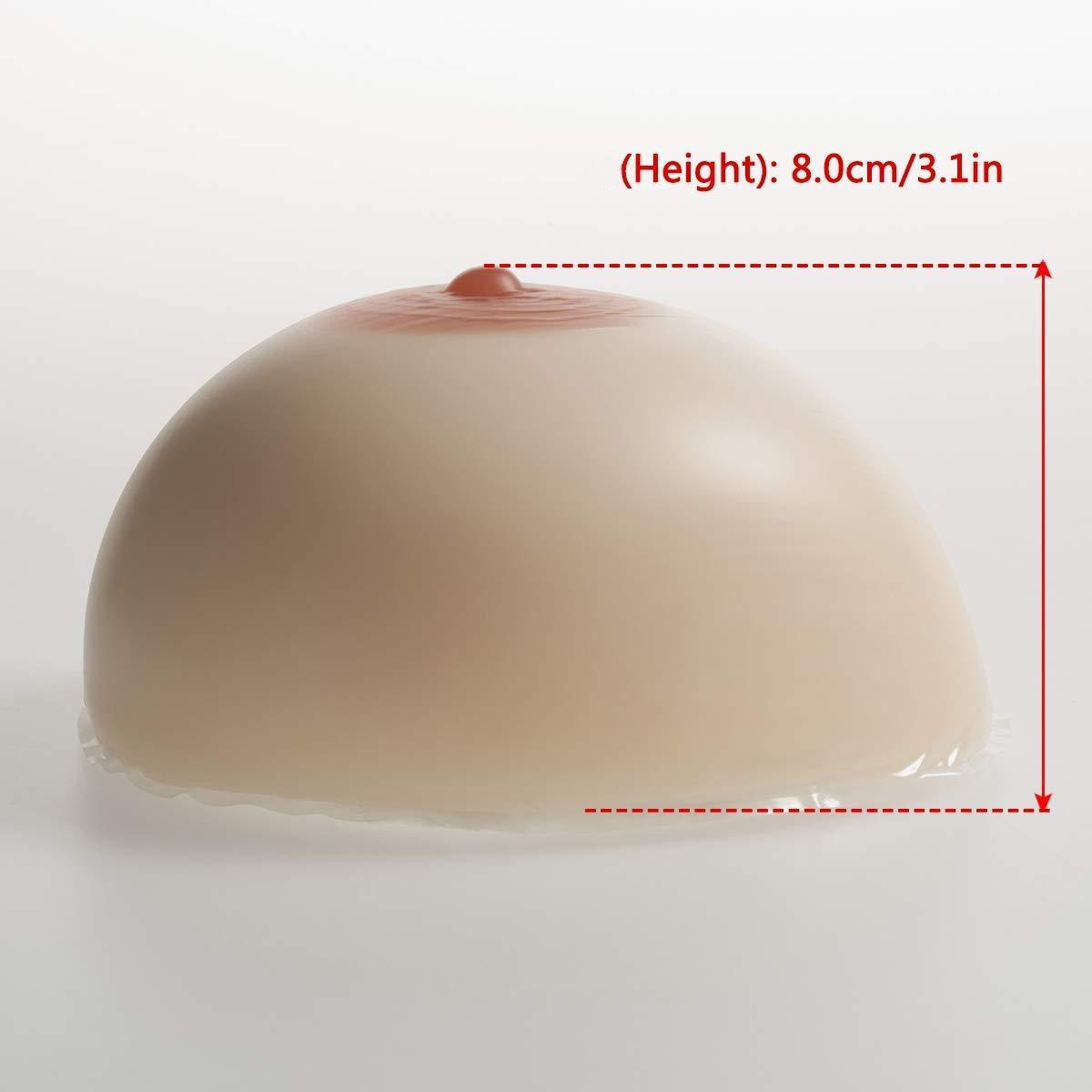 convient /à la r/ésection mammaire Patient ,XL faux coffre de rehausseur artificiel de seins artificiels Proth/èse mammaire antiadh/ésive en silicone 1 paire transsexuelles Travestis
