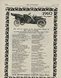 1910 Velie Motor Vehicle Co Moline IL Auto Ad Selden Model 35