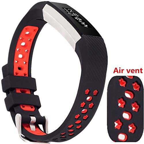 Watch Wrist Strap for Fitbit Alta (Red) - 8