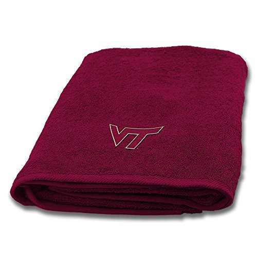 (Northwest COL 929 Virginia Tech Hokies NCAA Applique Bath Towel)