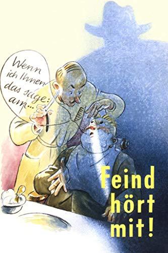 ArtParisienne Feind Hört Mit Karl Hans Richard Zoozmann 20x30-inch Canvas Print ()