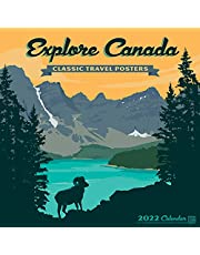 Explore Canada Art Posters 2022 Wall Calendar by Anderson Design Group: Featuring the artwork of Anderson Design Group