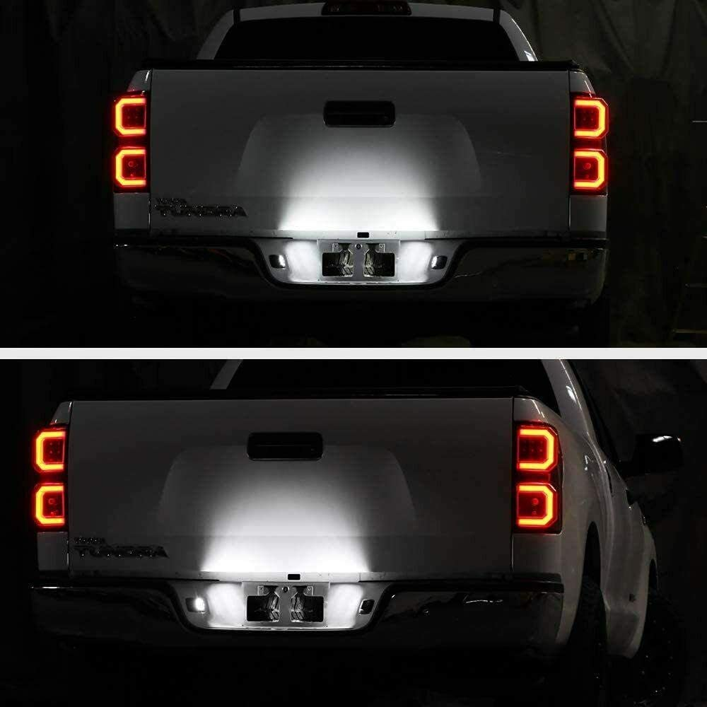 Overun Bright-TECH Series 2pcs 18 SMD Replacement LED License Plate Light Lamp Designed for 2016/&Up Mazda Miata MX-5
