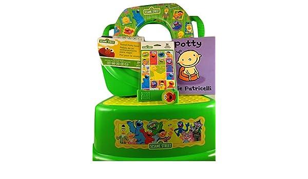 Amazon.com : Potty Training Set With Seats 7 Piece Bundle Sesame Street Characters : Baby