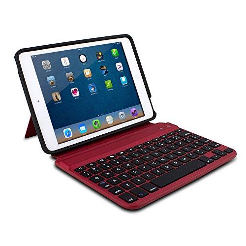 Zagg keys Mini 7 Case/keyboard for Ipad Mini, Red