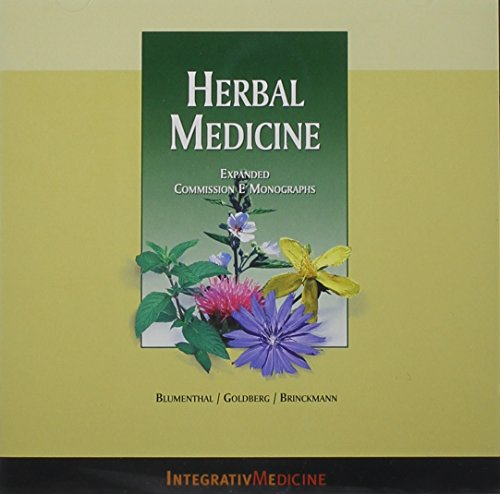 Herbal Medicine CD-ROM: Expanded Commission E Monographs by American Botanical Council