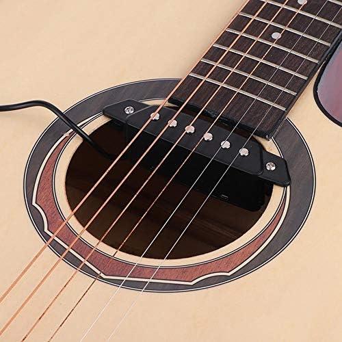 Dilwe Pastilla de Guitarra, Magnético Pastilla de Sonido con End ...
