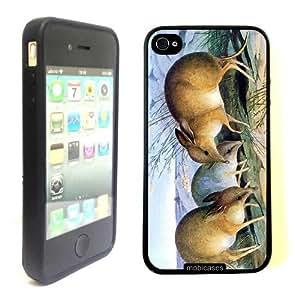 Bandicoots - Protective Designer BLACK Case - Fits Apple iphone 5c G