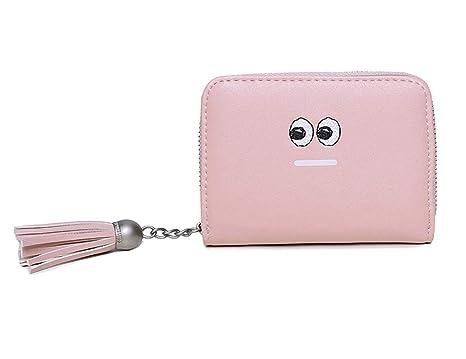 945432d32c ALAIX Portafogli RFID da donna Portafoglio piccolo in pelle Porta carte di  credito Bifold Organizzatore con