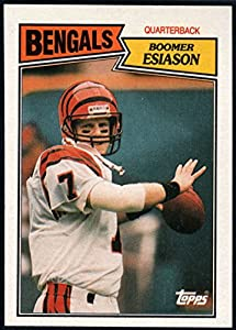 Football NFL 1987 Topps #185 Boomer Esiason NM-MT Bengals
