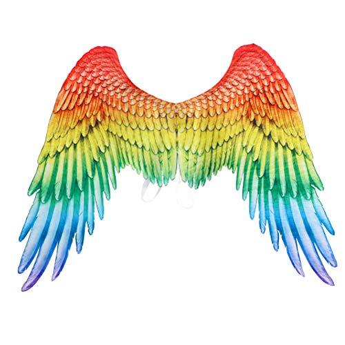 Angel Wings Cosplay Performance Props Rainbow Wings Spread Angel Wings Carnival Fancy Dress Accessory