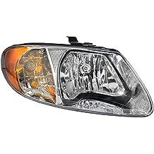 Passengers Headlight Headlamp Replacement for Dodge Chrysler Van 4857700AC