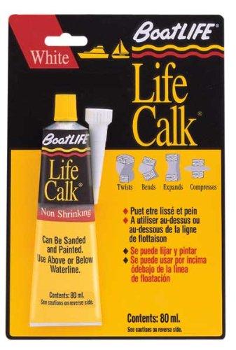 Boat Life Sealant Lifecalk Tube, White
