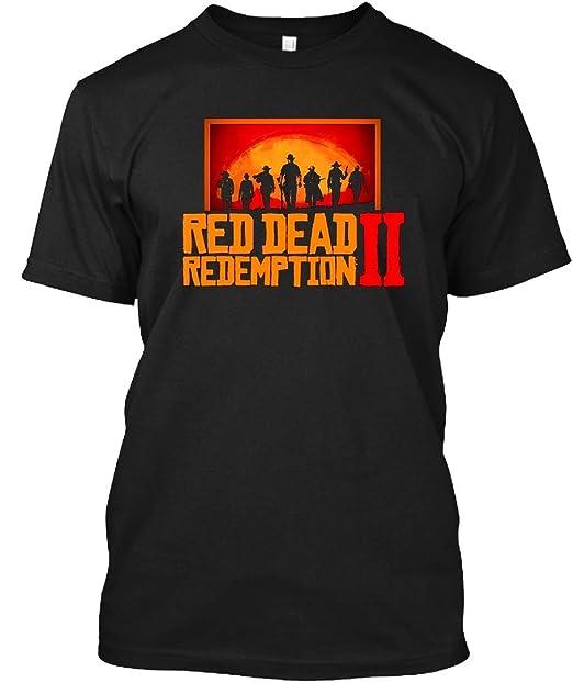 276eac571a2 Amazon.com  Red Dead Redemption 2 - Unisex 27 T-Shirt  Clothing