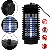 YBB Mosquito Lamp, Electronic Insect Killer Bug Zapper Trap Lamp 110V, Killing Mosquitoes to A Quiet Sleep, Indoor and Outdoor Use