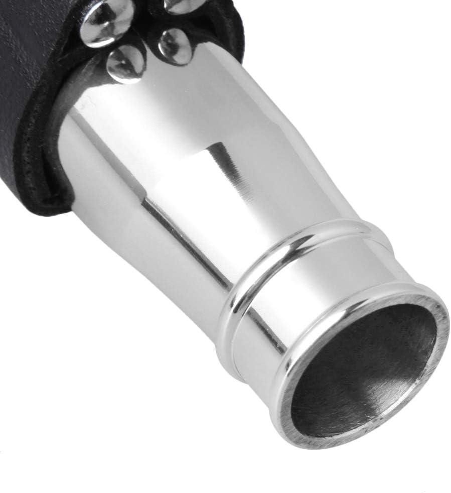 Mxfans 7# Jazz Tenor Saxophone Mouthpiece Set with PU Leather Ligature Cap