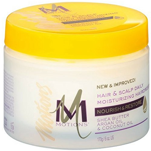 Hair Lotion Motions (Motions Nourish & Care, Hair & Scalp Daily Moisturizing Hairdressing 6 oz (Pack of 4))
