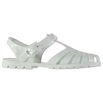 93afe953e6a4 JuJu Jellies Women s Thong Sandals white White  Amazon.co.uk  Shoes ...