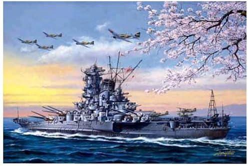 1000 Piece Battleship Yamato Departures (50cm×75cm、) Original Jigsaw Puzzle