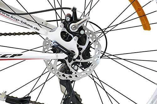 KCP 26 Mountain Bike Rooster 21 Speed Shimano Unisex Red 26 Inch