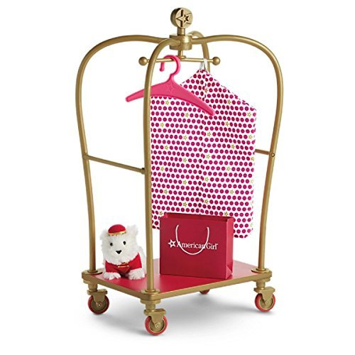 American Girl Truly Me Grand Hotel Luggage Cart for 18